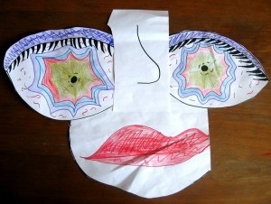 Дочь, картинки, кубизм, Пикассо