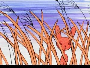 анимация, Басё, Восток, Зимние дни, Норштейн, стих, танка, хайку, хокку, Япония, Fuyu No Hi
