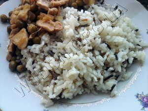 дикий рис, инь, иньян, Китай, курица по-китайски, рис, ян, Япония
