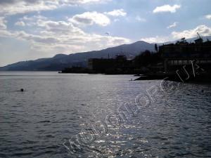 android, HTC, горы, Крым, мобилография, море, смартфон, Ялта