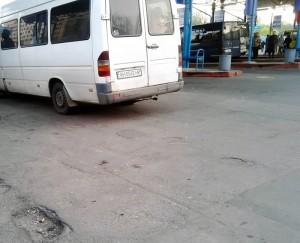 Донецк. Счастливый автобус?